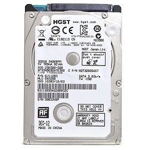 HD 500GB P/ Notebook  HGST Z5K500-500 Slim