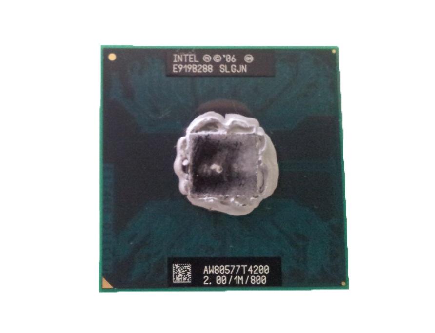 Processador Notebook Intel Pentium Dual Core AW80577T4200 1M Cache, 2.00 GHz, 800 MHzSLGJN  (semi novo)