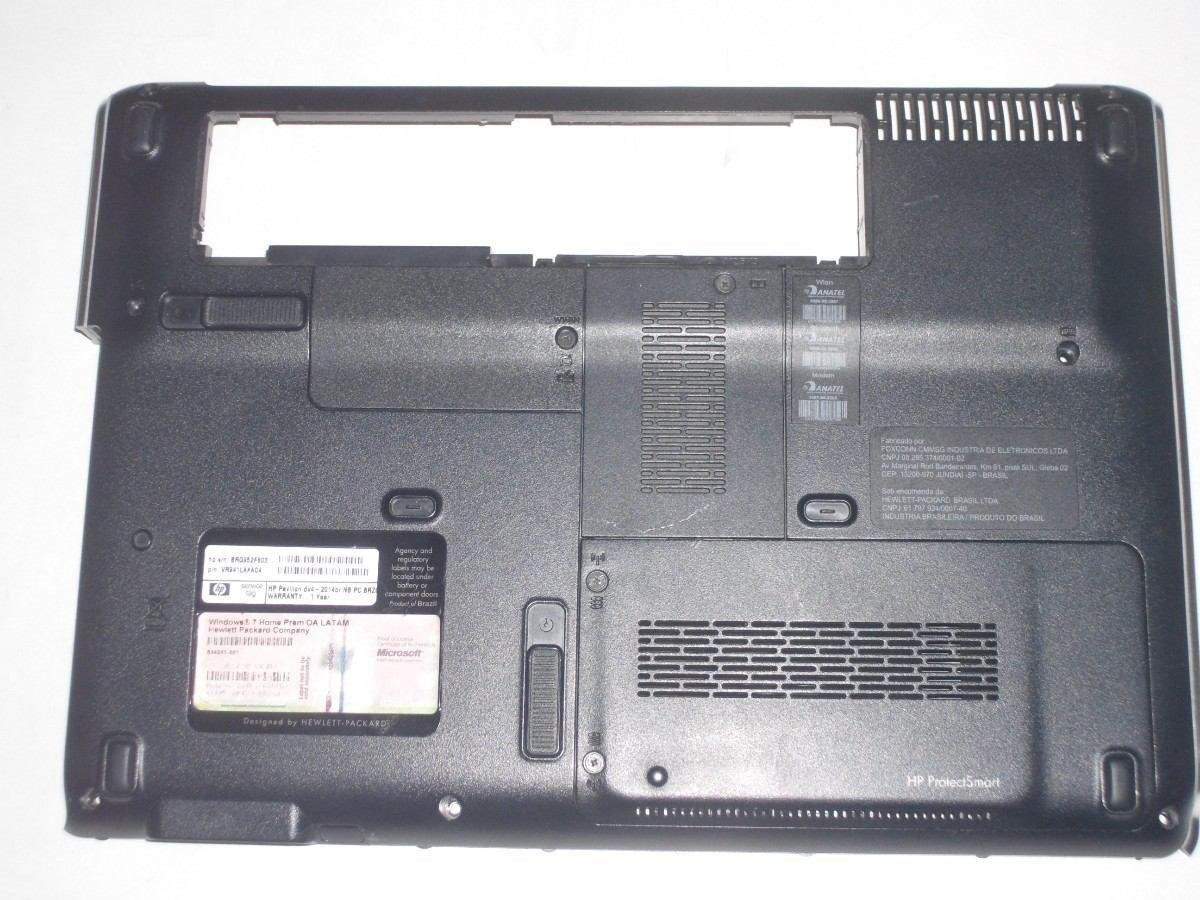 Carcaça Base Inferior Notebook HP DV4-2112br DV4-1120br