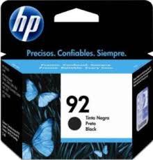 Cartucho HP Nº 92 Preto