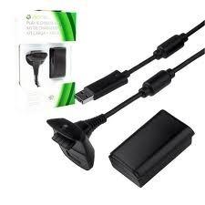 Kit Para Controle Xbox 360 Carregador USB e Bateria