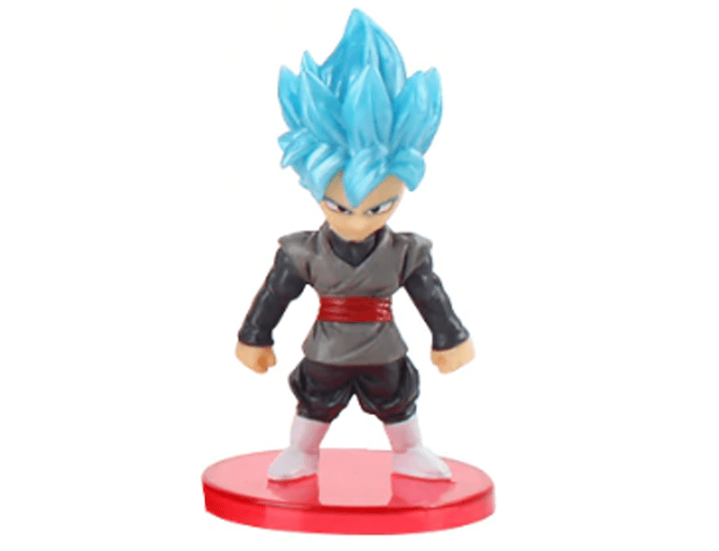Action Figure Dragon Ball Goku Black SSJ Blue 7cm