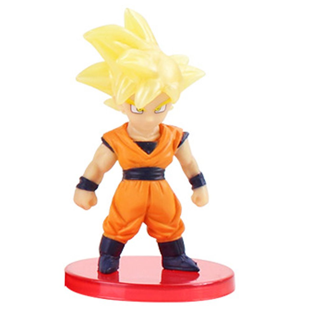 Action Figure Dragon Ball Goku Super Sayajin 7cm