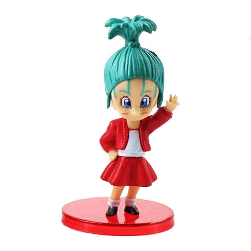 Action Figure Dragon Ball Kid Bulma 7CM