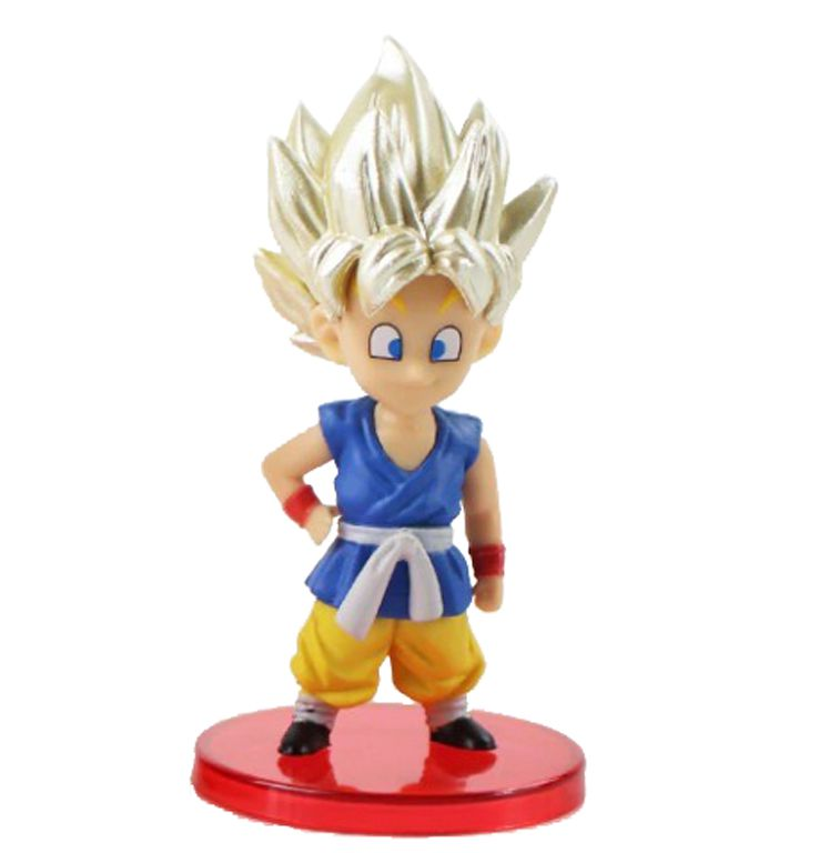 Action Figure Dragon Ball Kid Goku SS 7CM