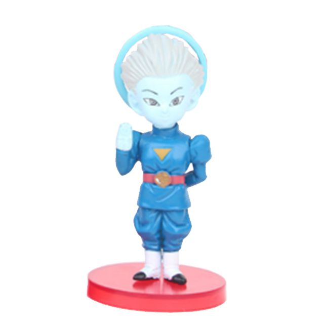Action Figure Dragon Ball Super Daishinkan 7cm C/ Auréola
