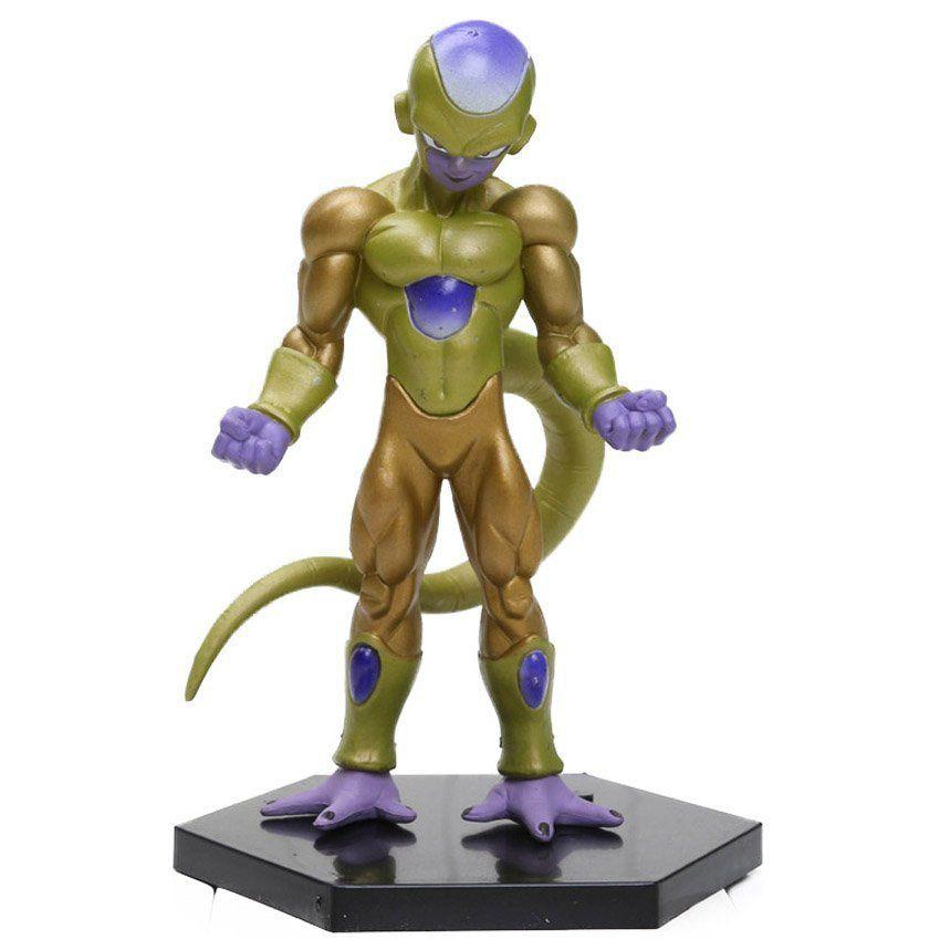 Action Figure Dragon Ball Super Freeza Golden 13cm Base Recuperada