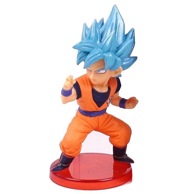 Action Figure Dragon Ball Super Goku Blue 8cm