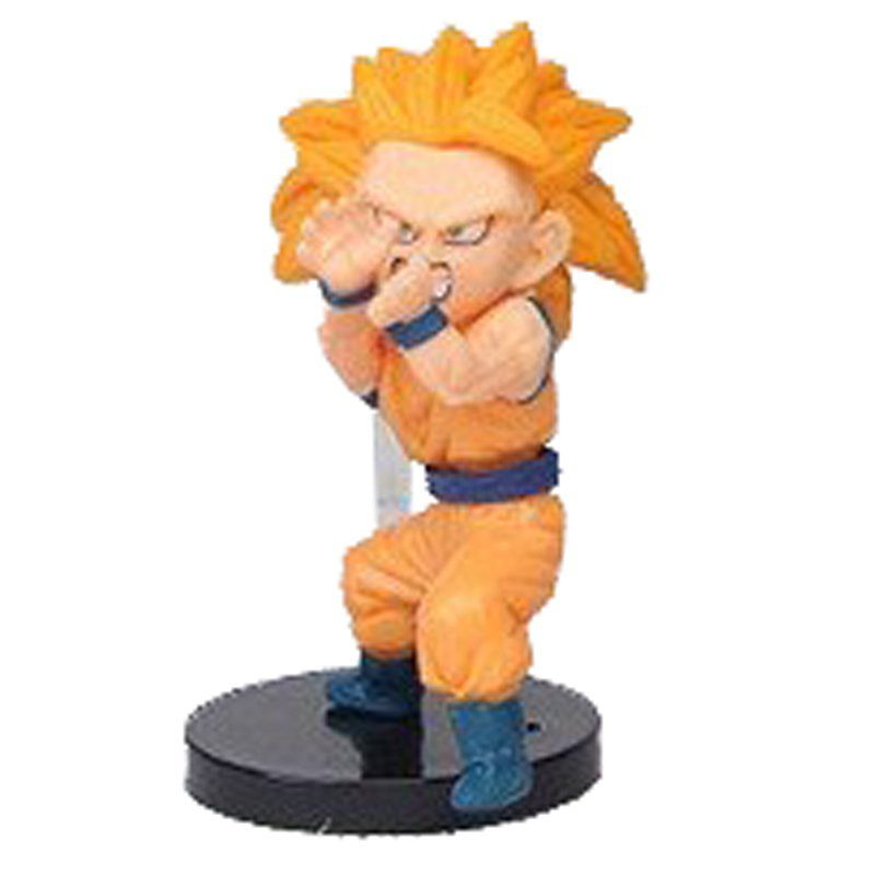 Action Figure Dragon Ball Super Goku SSJ 3 7CM