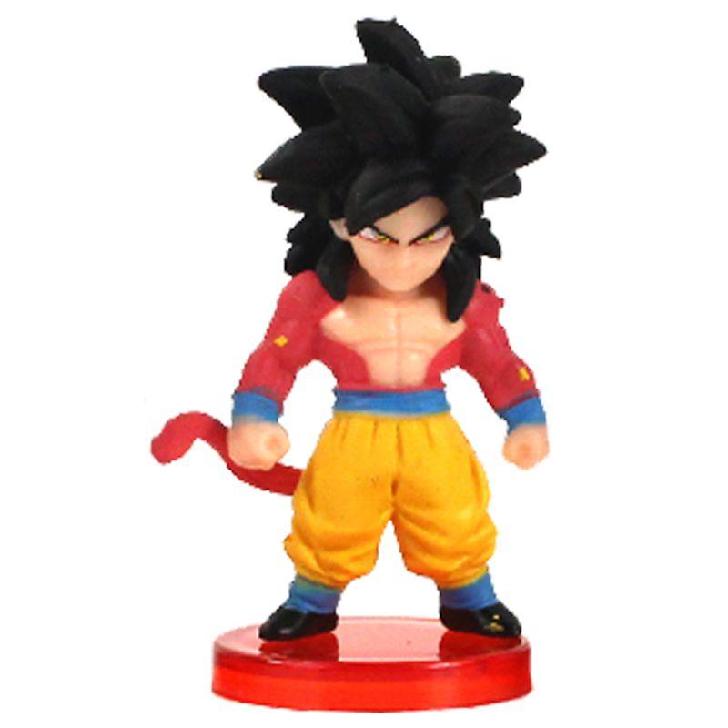 Action Figure Dragon Ball Super Goku SSJ 4 7cm