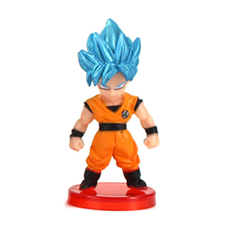 Action Figure Dragon Ball Super Goku SSJ Blue 7cm