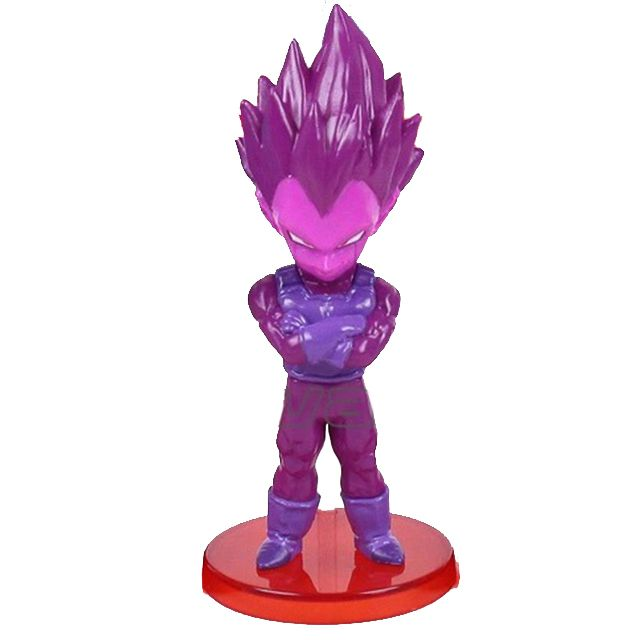 Action Figure Dragon Ball Super Purple Vegeta 9cm