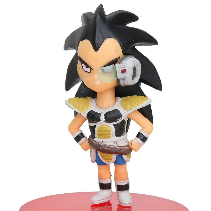 Action Figure Dragon Ball Super Raditz Criança 6cm