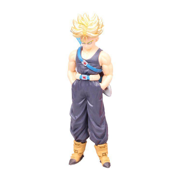 Action Figure Dragon Ball Super Trunks Super Sayajin c/ Espada 15CM