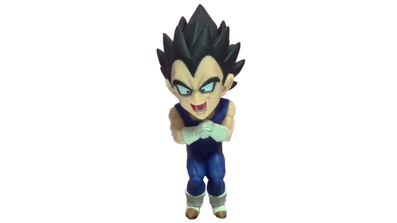 Action Figure Dragon Ball Super Vegeta 7CM