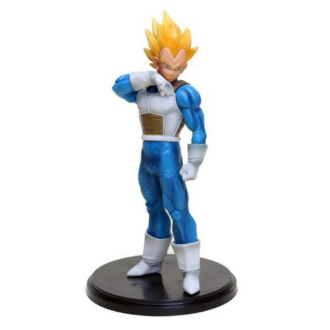 Action Figure Dragon Ball Super Vegeta Super Sayajin 20cm