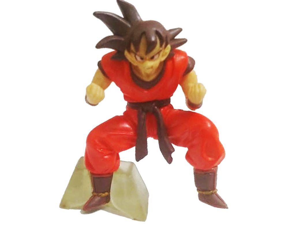 Action Figure Dragon Ball Z Goku Kaioken 6cm