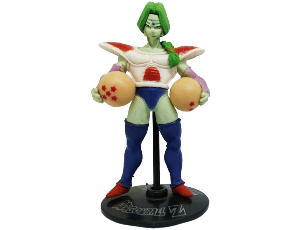 Action Figure Dragon Ball Z Zarbon 8cm