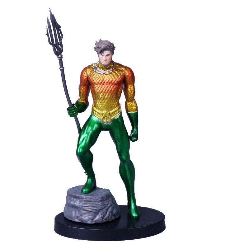 Action Figure Liga da Justiça Aquaman 14 cm