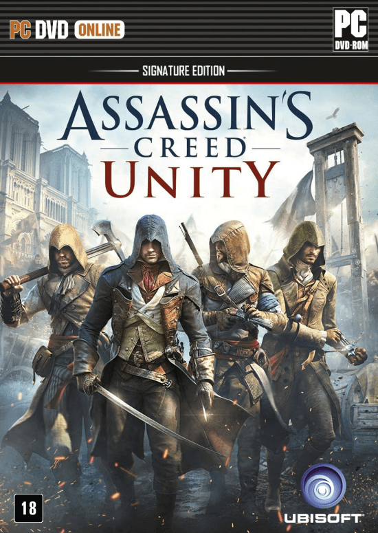Jogo p/ PC  Assassin's Creed - Unity - Signature Edition DVD Original Mídia Física