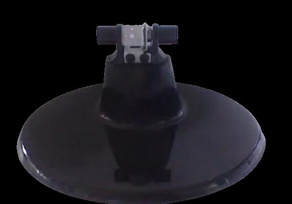Base Pé Suporte Pedestal Monitor LG W2243s PN: mam588798 - Retirado