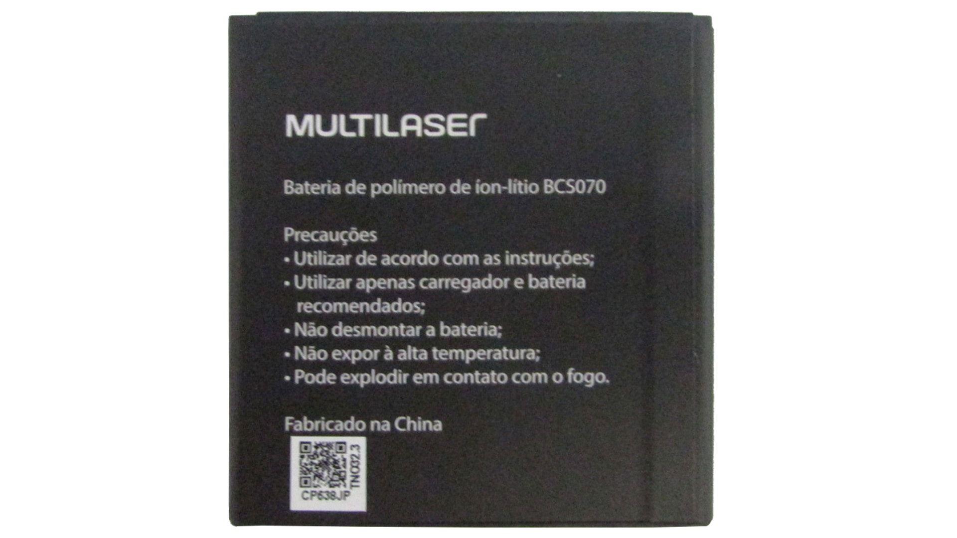 Bateria Bcs070 P/ Smartphone Ms40g P9070 P9071 Pr376