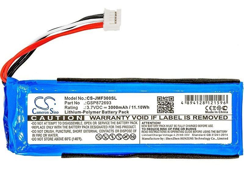 Bateria Caixa De Som Flip 4 3200mah Modelo Gsp872693