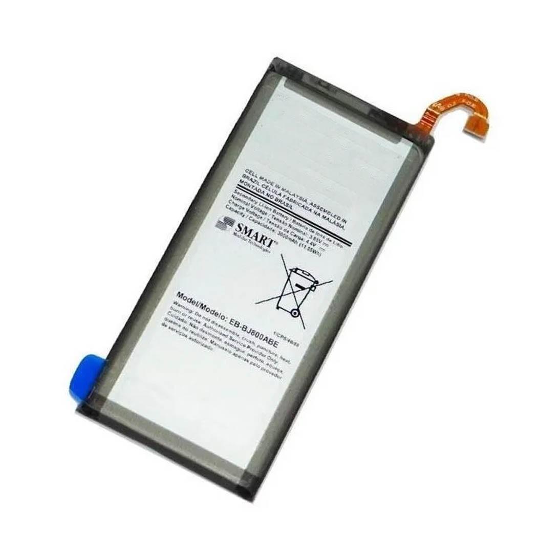 Bateria de Reposição EB-BJ800ABE Compatível Galaxy J6 J8 J800 J600 - EB-BJ800ABE