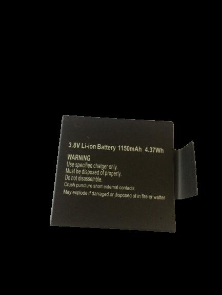 Bateria Multilaser 1150mAh  4.37Wh P/ Câmera Atrio 4k Original Dc185 Dc301 - PR667