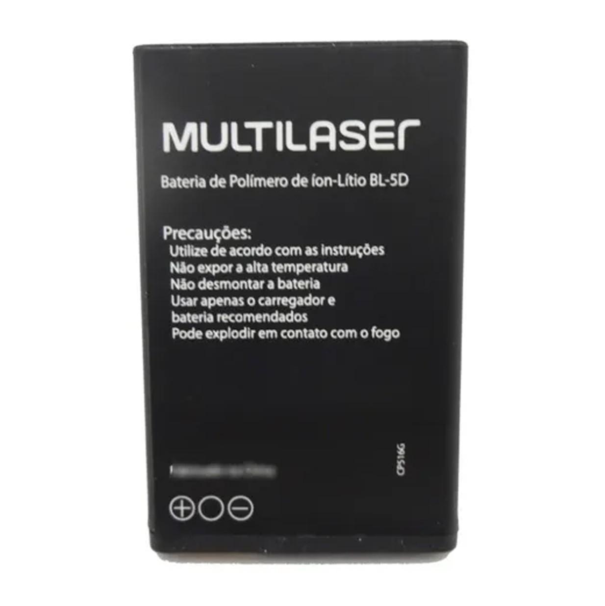 Bateria Multilaser Bl-5D para Celular Up 3G (P9017) - PR067