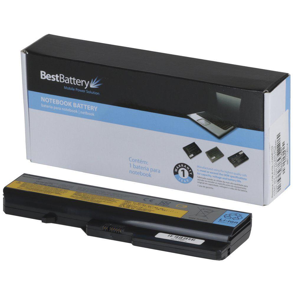 Bateria p/ Notebook Lenovo 3000 B470 B570 G460 G560 11.1V 4400MAH DW04 Best Battery BB11-LE014