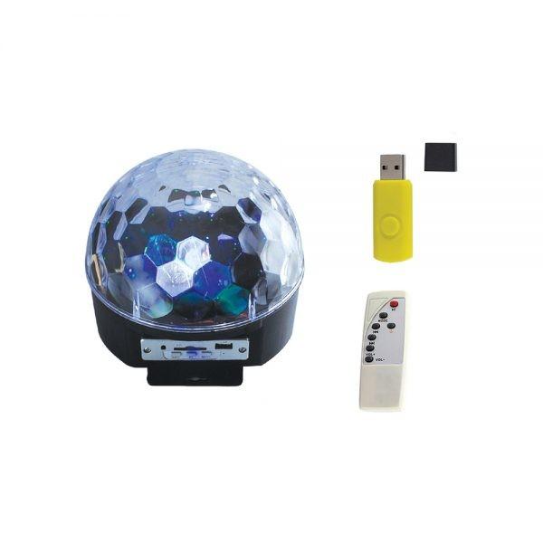 Bola LED RGB  Bola Maluca c/ som XC-XL-10