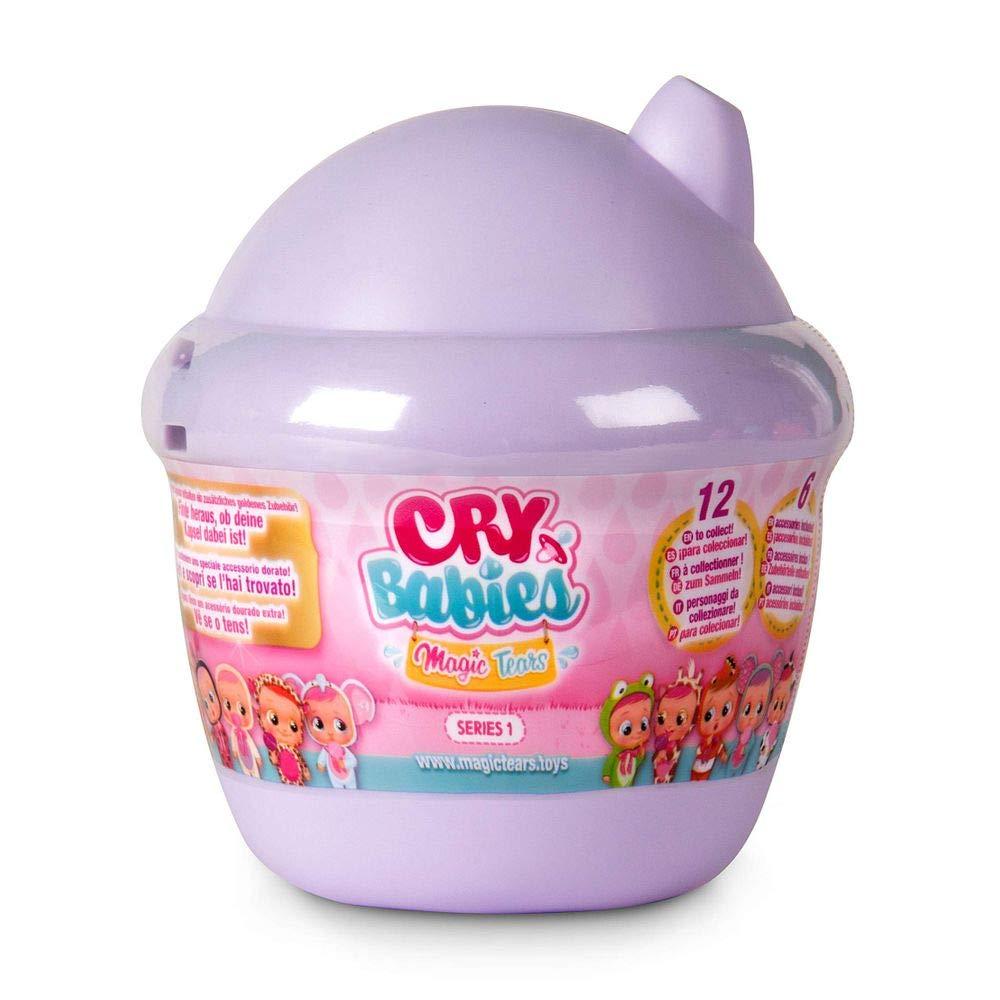 Boneca Cry Babies Magic Tears Bottle House Série 1 Roxo Multikids BR980