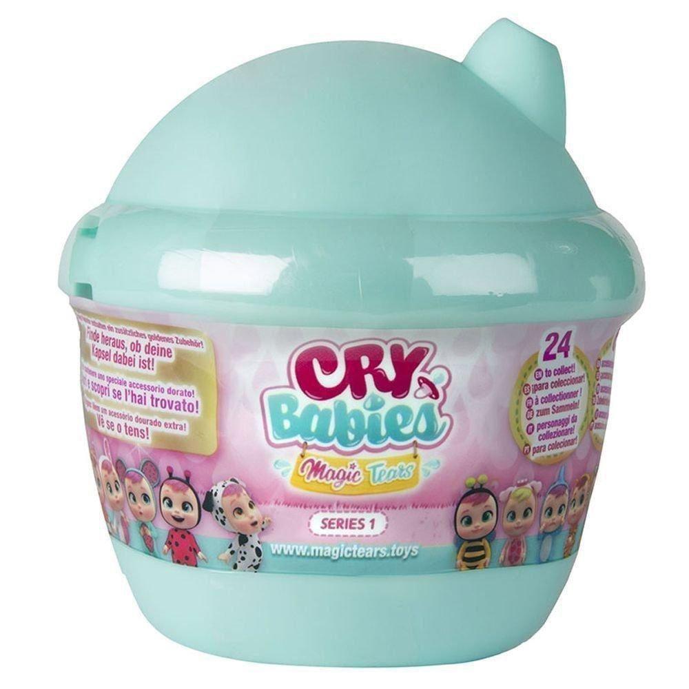 Boneca Cry Babies Magic Tears Bottle House Série 1 Verde Multikids BR980