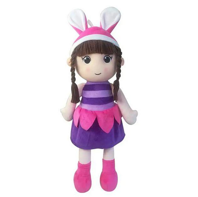 Boneca de Pano Mia Cutie Dolls de 50cm Multikids - BR1139