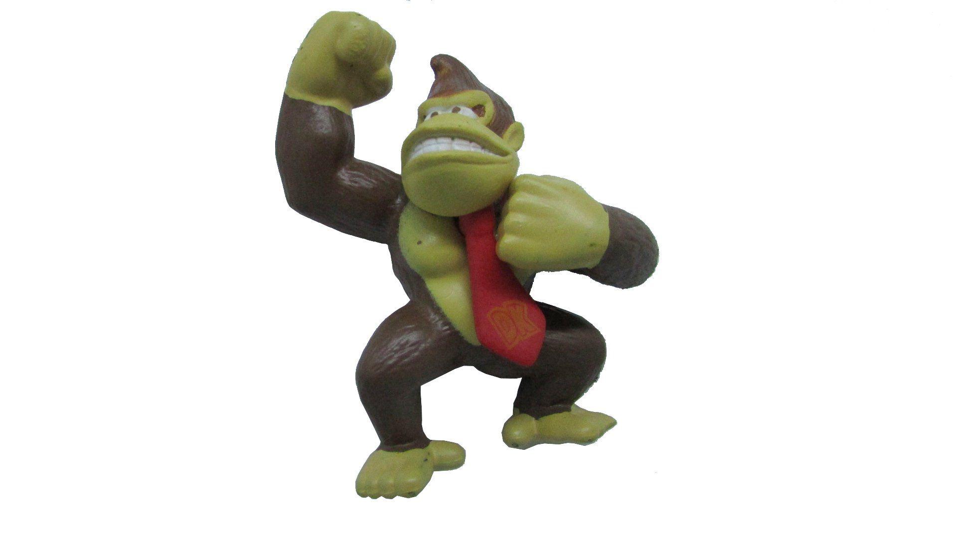 Boneco Colecionável Donkey Kong 7CM
