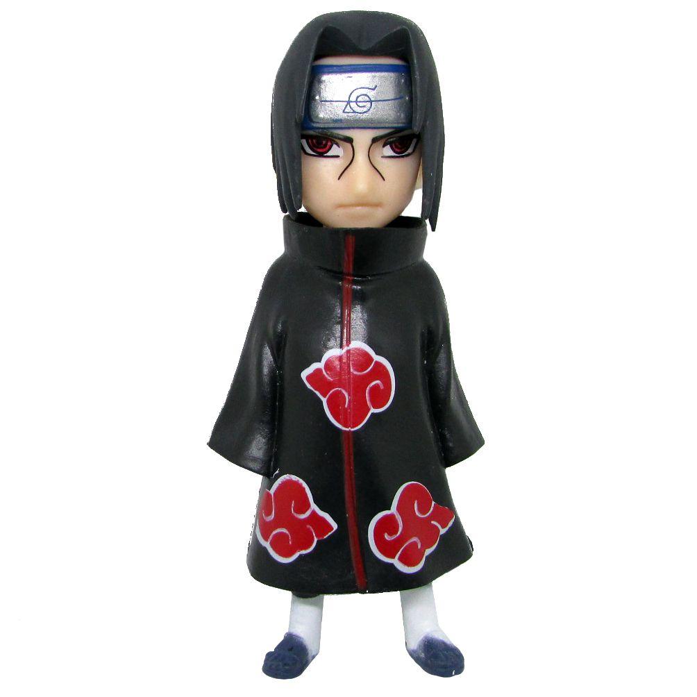Boneco Colecionável Naruto Miniatura 10,5Cm em PVC - Itachi