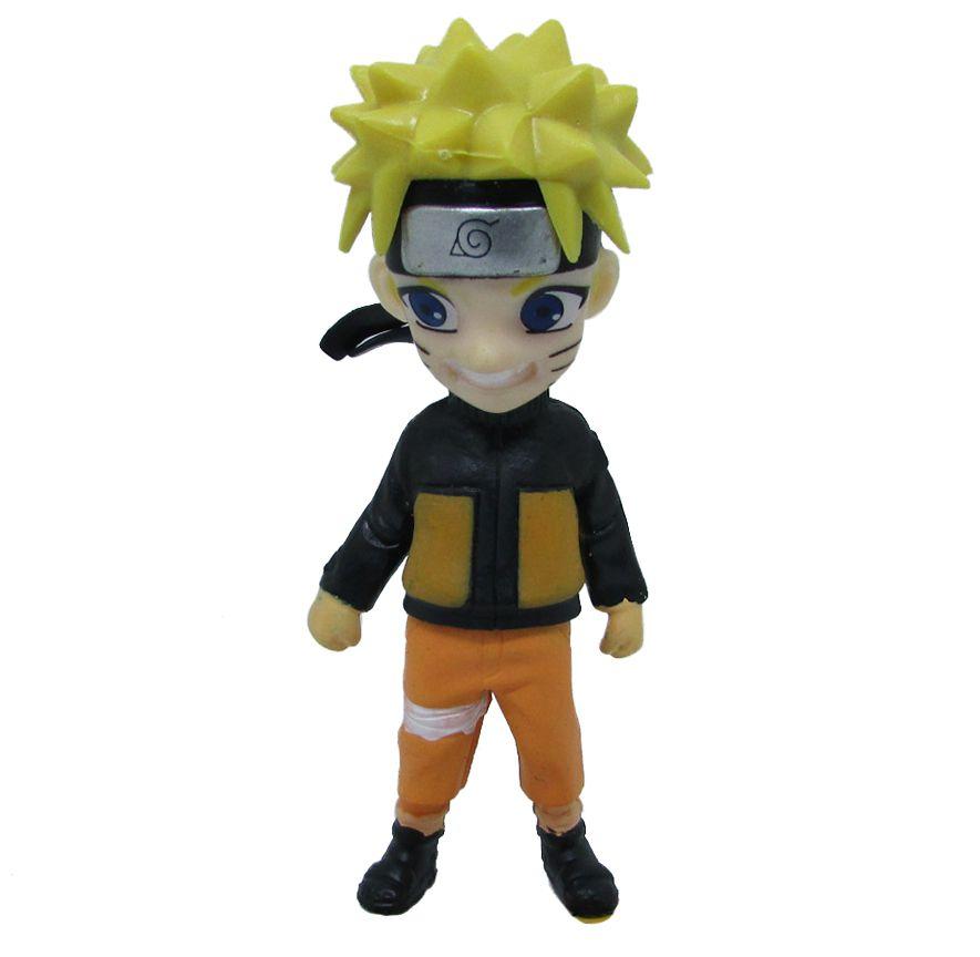 Boneco Colecionável Naruto Miniatura 10Cm em PVC - Naruto 01