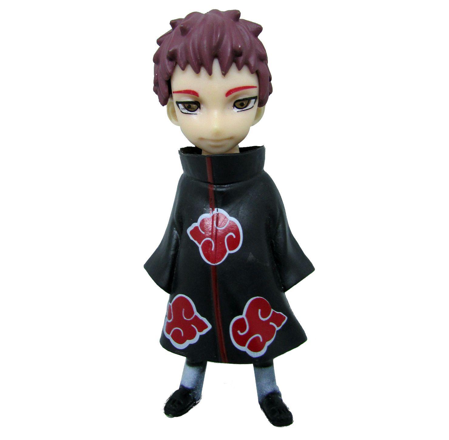 Boneco Colecionável Naruto Miniatura 11Cm em PVC - Sasori