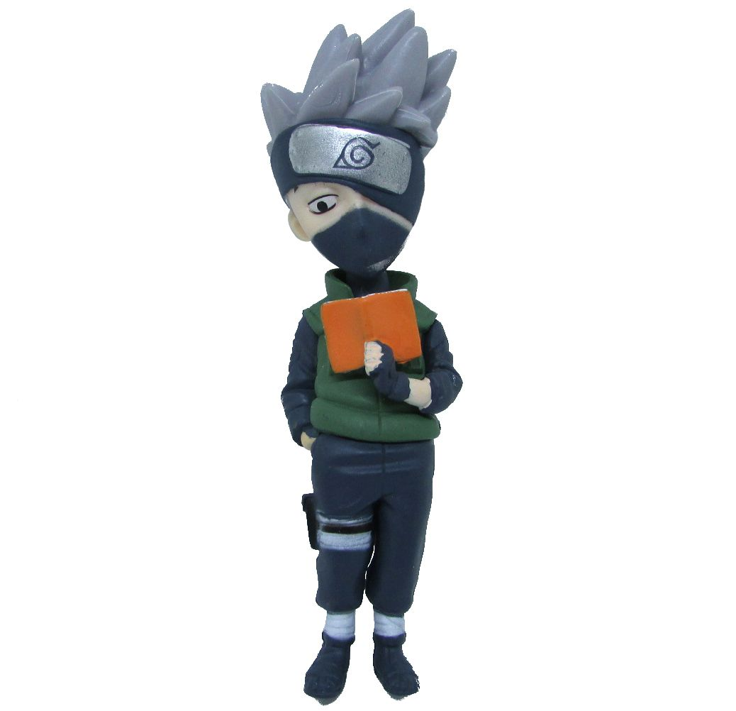 Boneco Colecionável Naruto Miniatura 12Cm em PVC - Kakashi