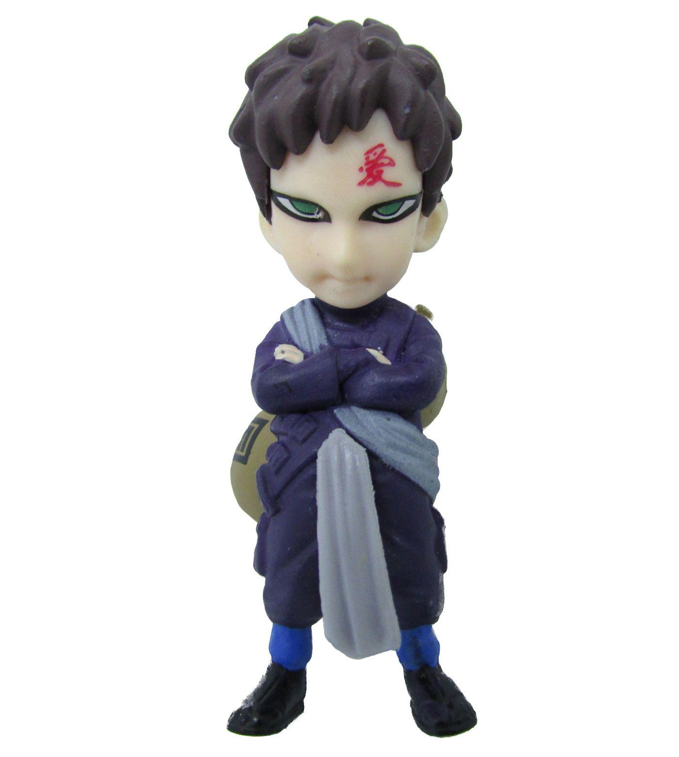 Boneco Colecionável Naruto Miniatura 8,5Cm em PVC - Gaara