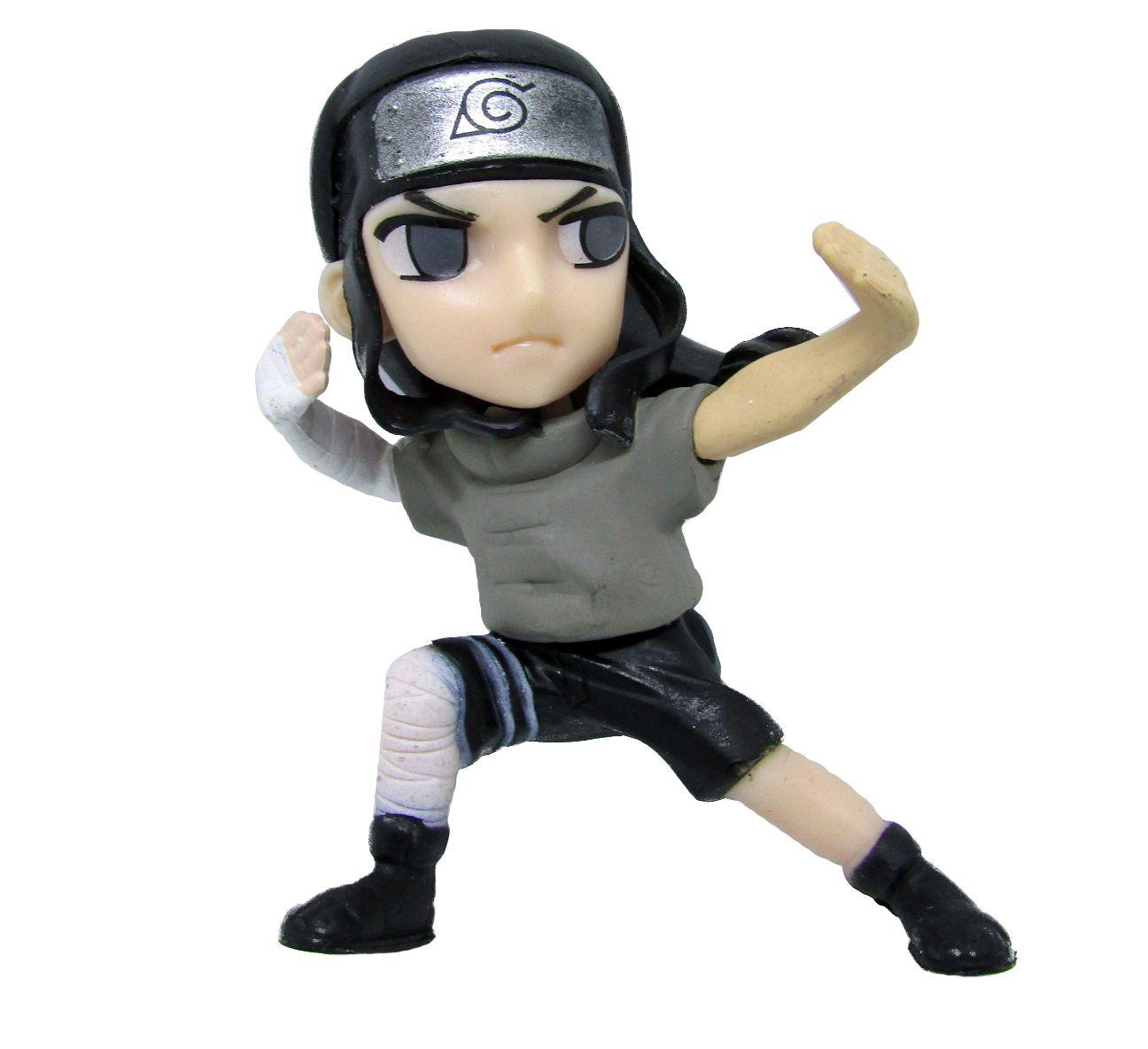 Boneco Colecionável Naruto Miniatura 8Cm em PVC - Neji