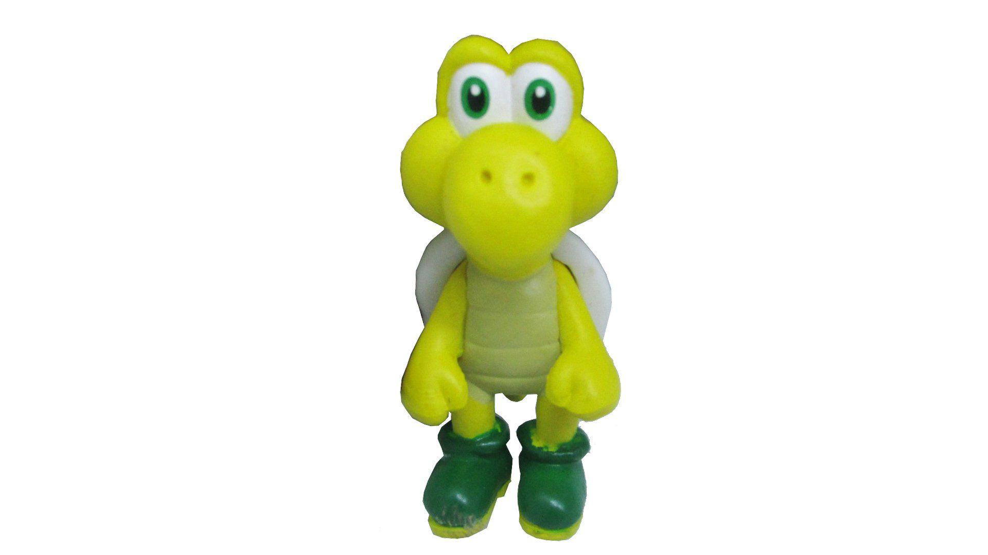 Boneco Colecionável Super Mario - Koopa Troopa - 5CM