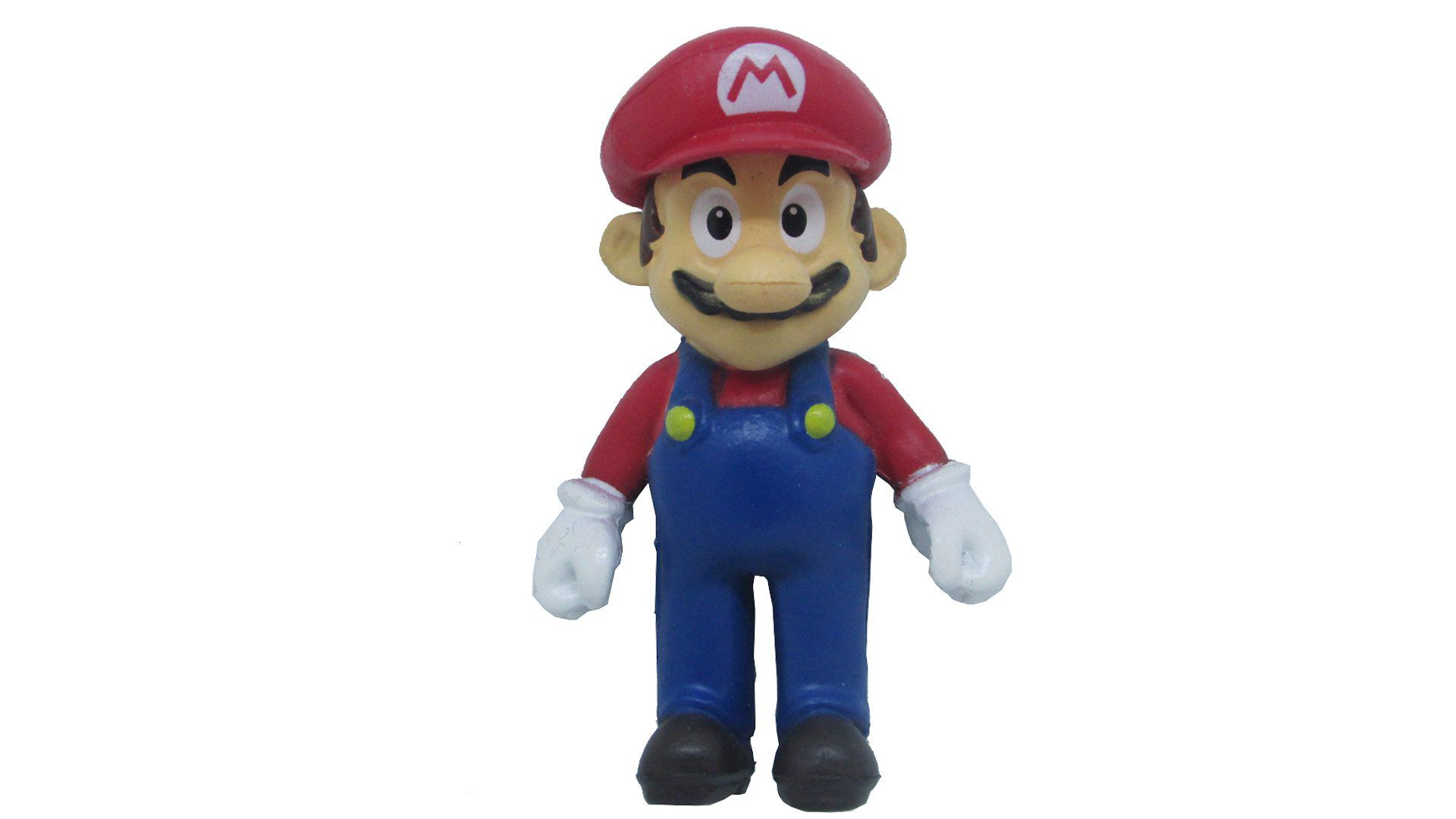 Boneco Colecionável Super Mario - Mario - 6CM