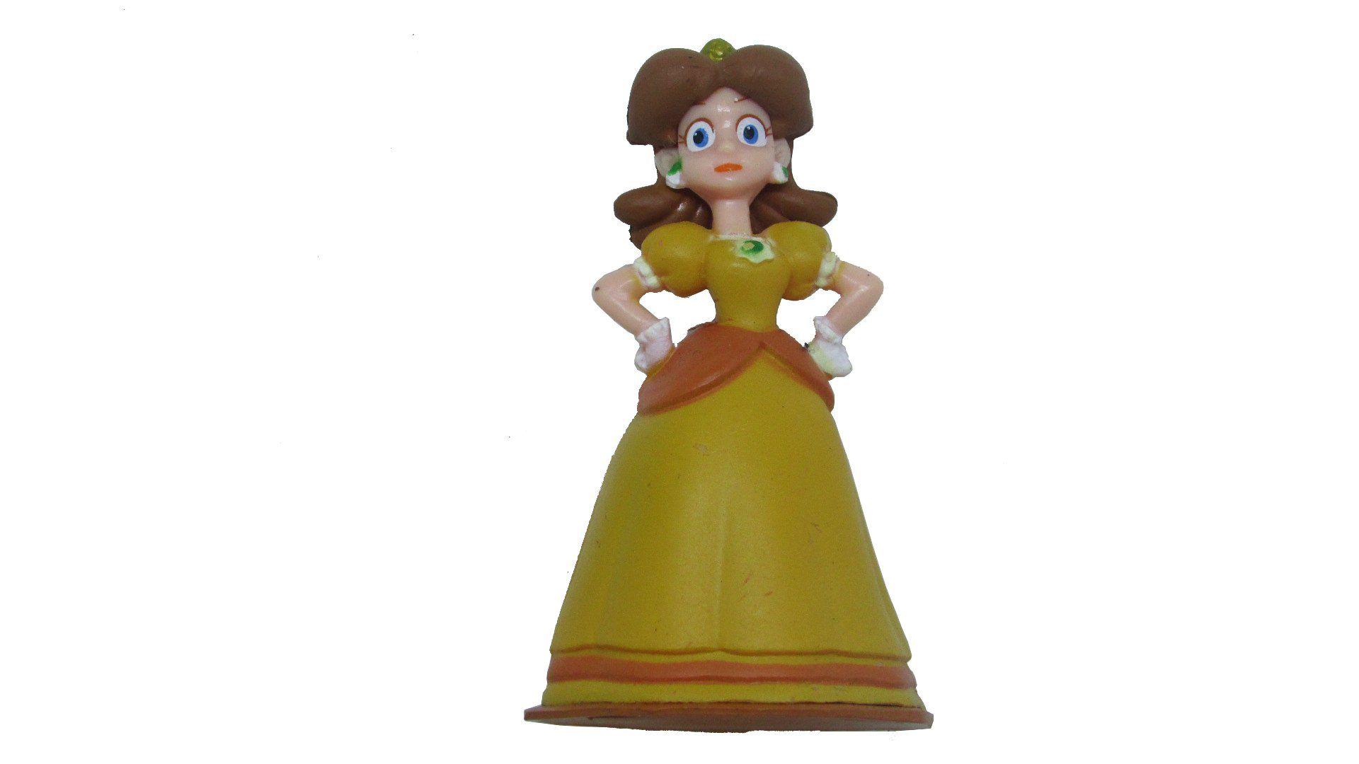 Boneco Colecionável Super Mario - Princesa Daisy - 7CM
