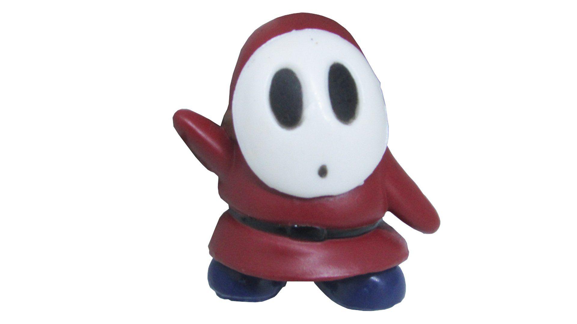 Boneco Colecionável Super Mario - Shy Guy - 4CM