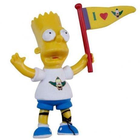 Boneco Desenho Seriado Os Simpsons Bart Crust Fanboy Br499 Multikids