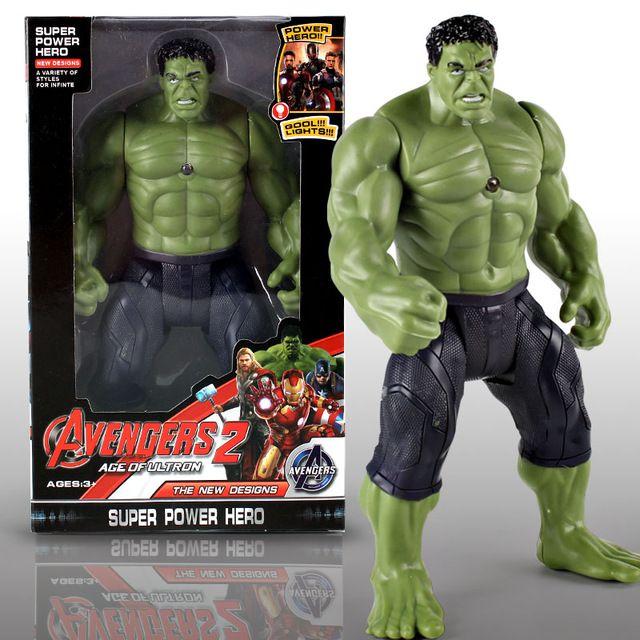 Boneco Os Vingadores Figuras De Ação Hulk