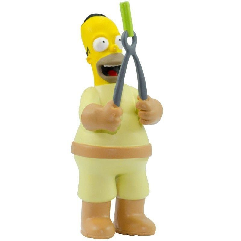 Boneco The Simpsons Homer Simpson Trabalhando Br499 Multikids