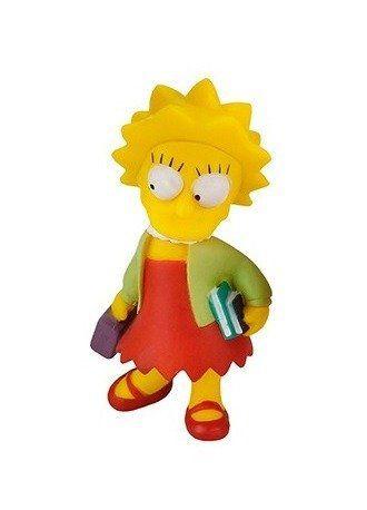 Boneco The Simpsons Lisa indo pra escola Br499 Multikids